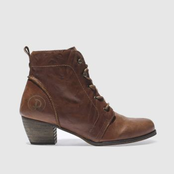 Red Or Dead Tan Exam Womens Boots