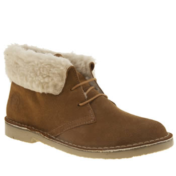 Womens Red Or Dead Tan Geography Boots