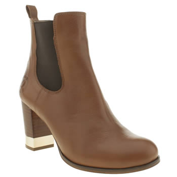 Red Or Dead Tan Aurora Boots