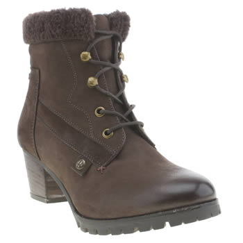 Womens Red Or Dead Brown Shout Boots