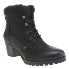 Red Or Dead Black Shout Womens Boots