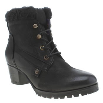 Womens Red Or Dead Black Shout Boots