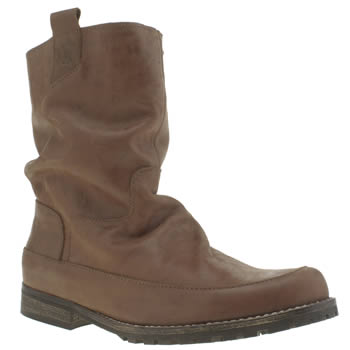 Womens Red Or Dead Tan Respect Boots