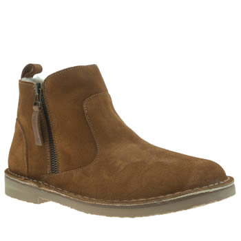 Womens Red Or Dead Tan Revolution Boots
