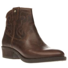 Red Or Dead Brown Ida Womens Boots