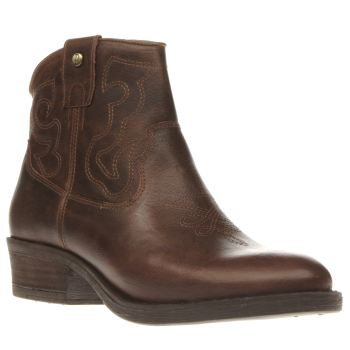 Red Or Dead Brown Ida Boots