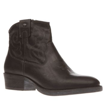 Red Or Dead Black Ida Boots
