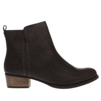 Red Or Dead Black Gwendolina Womens Boots