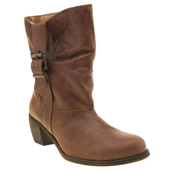 Red Or Dead Tan Mad Madge Womens Boots