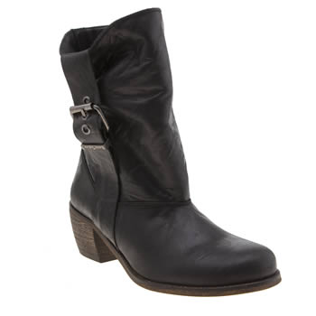 Red Or Dead Black Mad Madge Womens Boots
