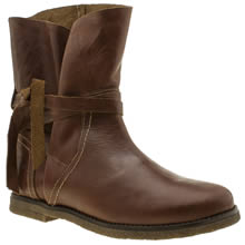 Red Or Dead Brown Ethel Womens Boots