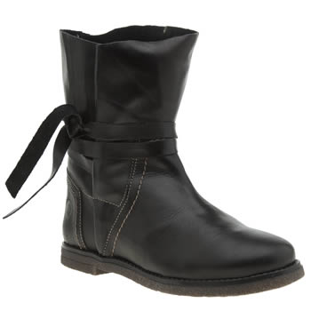 Red Or Dead Black Ethel Womens Boots