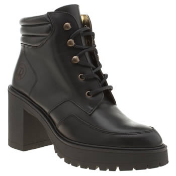 Red Or Dead Black Annabella Womens Boots