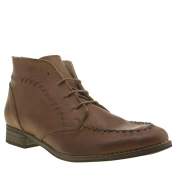 Red Or Dead Tan Sally Saturday Womens Boots