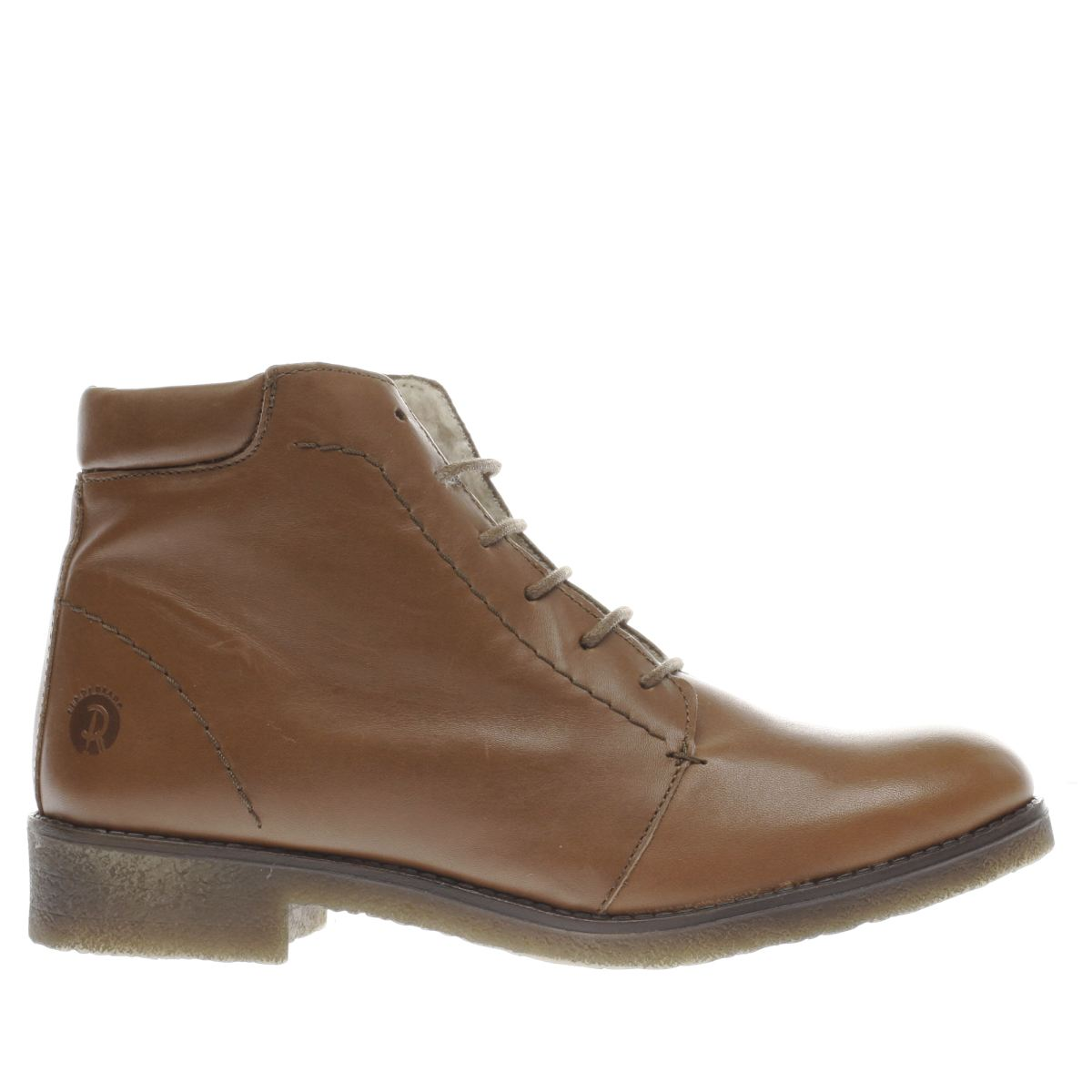 red or dead tan buck boots