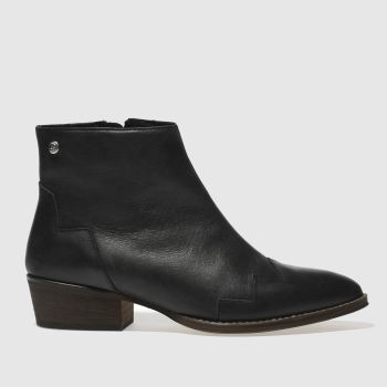 Red Or Dead Black Roxetta Womens Boots