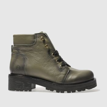 Red Or Dead Khaki Rocky Womens Boots