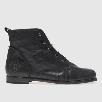 Red Or Dead Black Science Womens Boots