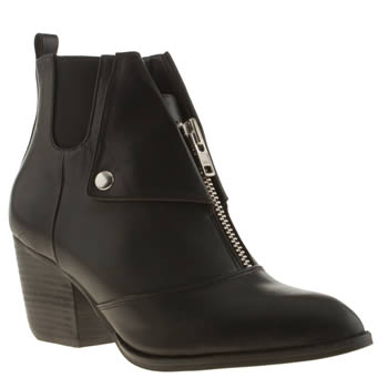 Shellys Black Scalone Boots