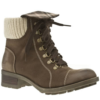 womens skechers dark brown lunacy sequoia boots