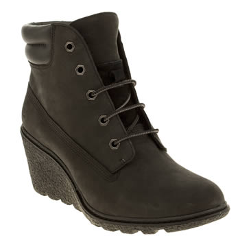 Timberland Black Earthkeepers Amston 6 Inch Boots