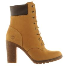 Timberland Natural Glancy 6 Inch Womens Boots