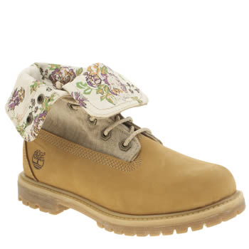 Timberland Natural Authentics Fold Down Boots