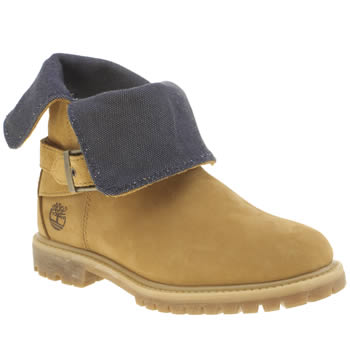 Womens Timberland Natural Authentics Wrap Around Boots
