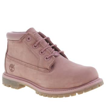 Timberland Pale Pink Timb Nellie Chukka Double Boots