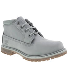 Timberland Pale Blue Nellie Chukka Double Womens Boots