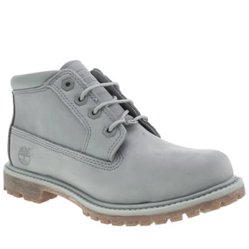 Womens Timberland Pale Blue Nellie Chukka Double Boots