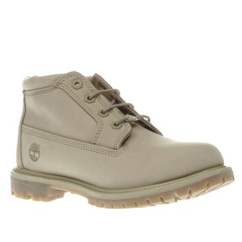 Timberland Beige Nellie Chukka Double Womens Boots
