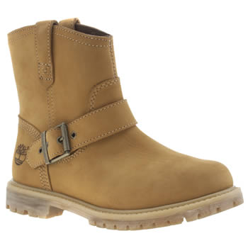 Timberland Natural 6 Inch Premium Pull On Boots