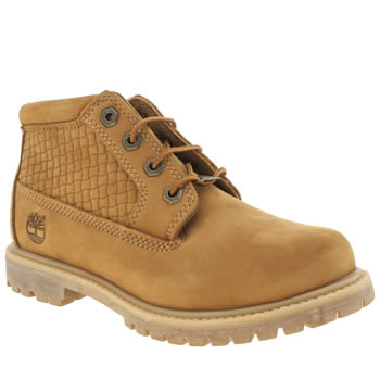 Womens Timberland Natural Nellie Chukka Double Emboss Boots
