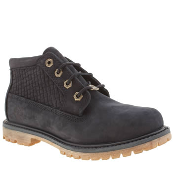 Timberland Navy Nellie Chukka Double Emboss Boots