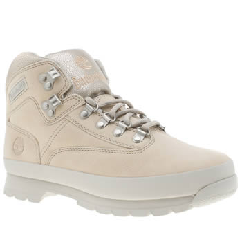 Timberland Pale Pink Euro Hiker Womens Boots