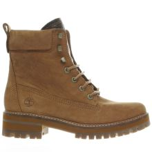 Timberland Tan Courmayeur Valley Boot Womens Boots