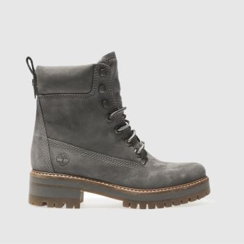 Timberland Grey Courmayeur Valley Boot Womens Boots
