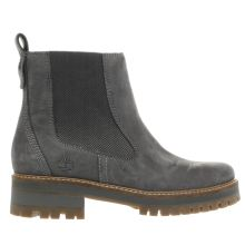 Timberland Dark Grey Courmayeur Valley Chelsea Womens Boots