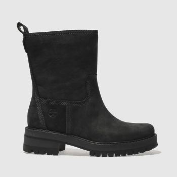 Timberland Black Courmayeur Valley Mid Womens Boots