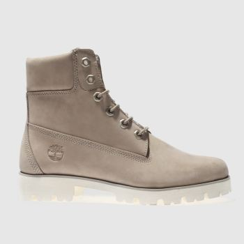 Timberland Beige Heritage Lite 6 Inch Womens Boots