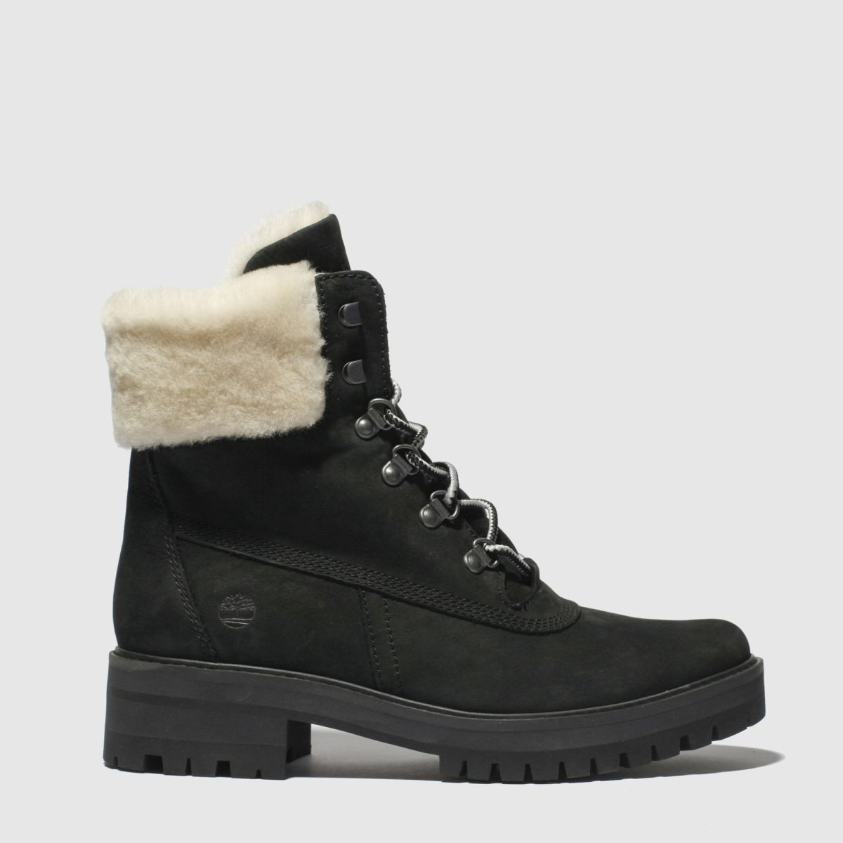 Timberland Black Courmayeur Valley Shearling Boots