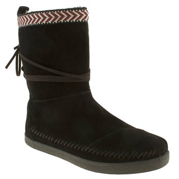 womens toms black nomad nepal boots