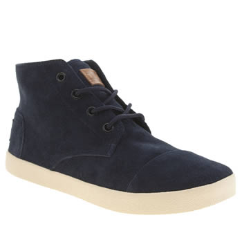 Womens Toms Navy Paseos High Boots