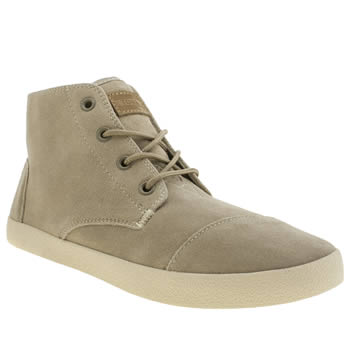 Toms Light Grey Paseos High Boots
