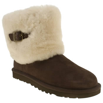 womens ugg australia dark brown ellee boots