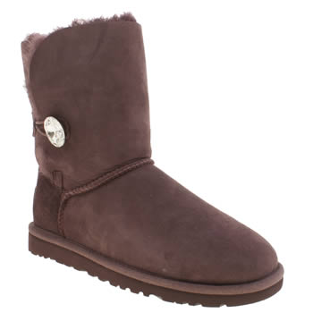 Womens Ugg Australia Purple Bailey Button Bling Boots