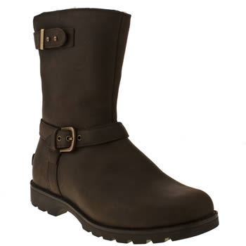 Womens Ugg Australia Brown Grandle Boots