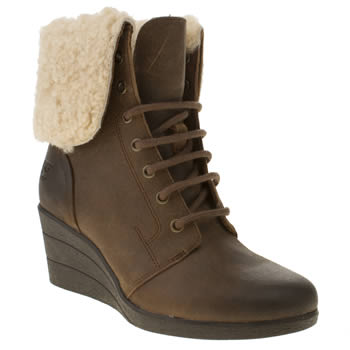 Ugg Australia Dark Brown Zea Boots
