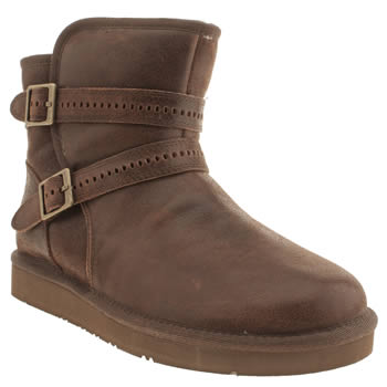 Womens Ugg Australia Brown Aiden Boots